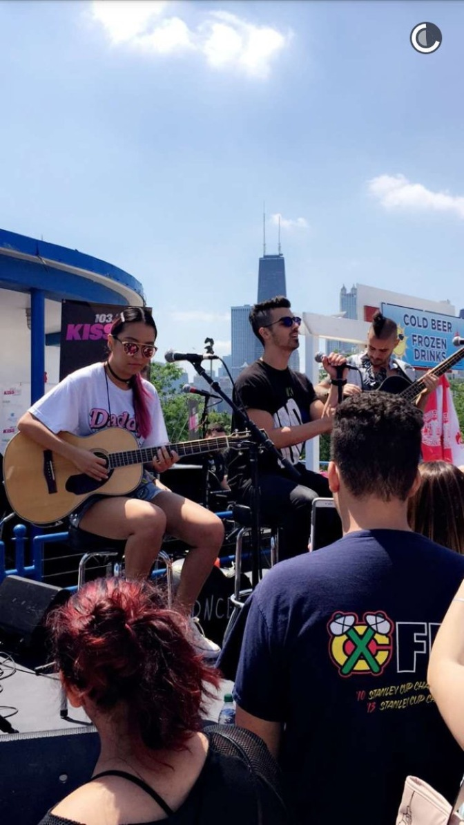 DNCE at Castaway's In Chicago
