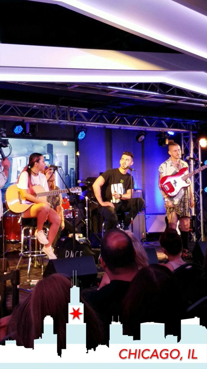 DNCE at B96 Studios in Chicago
