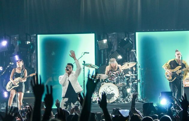 DNCE Performing in Phoenix