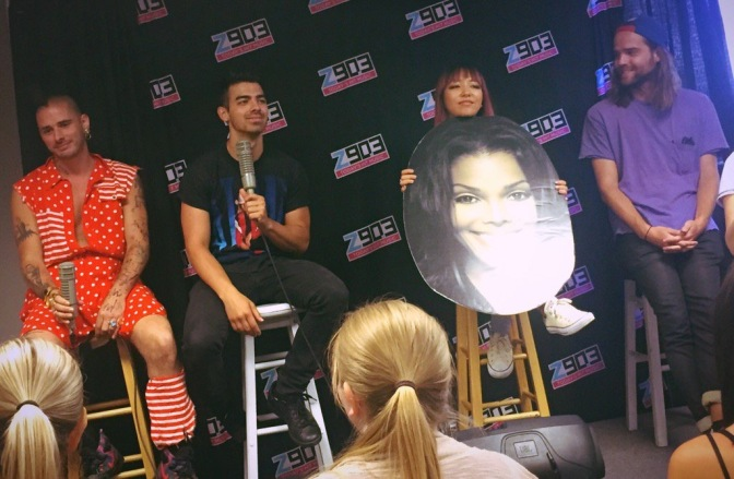 DNCE at Z90.3