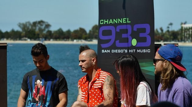DNCE at Pardise Point in San Diego