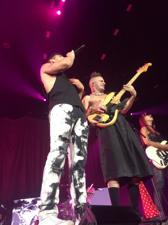 DNCE Performing in San Diego