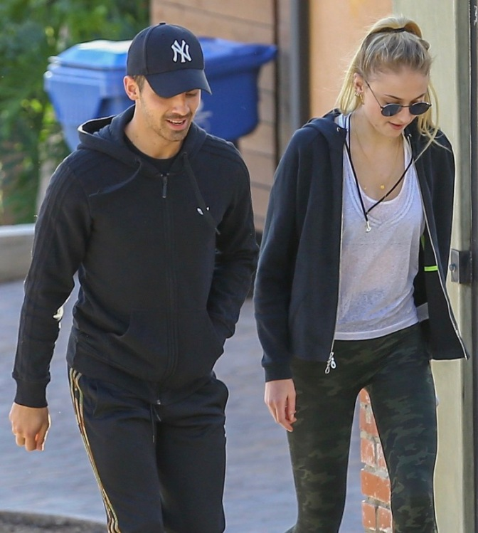 Joe Jonas and Sophie Turner out in LA