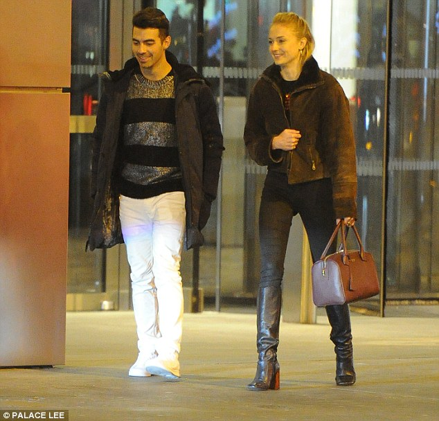 Joe Jonas and Sophie Turner out in London