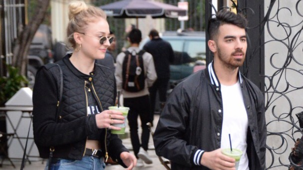 Joe Jonas and Sophie Turner out in Los Angeles