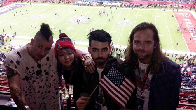 DNCE Attends Super Bowl 51