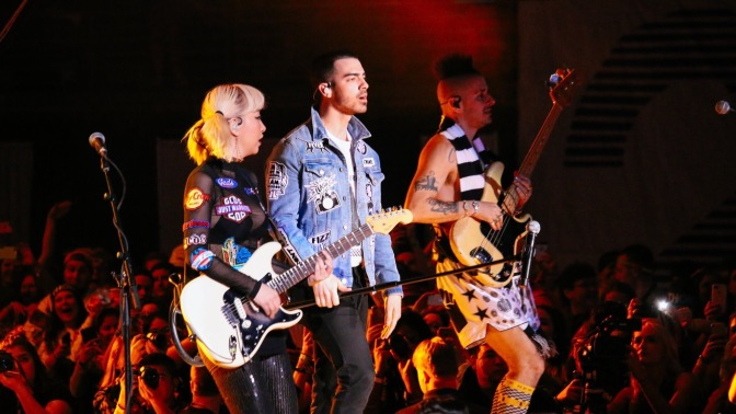 DNCE Performing at THON