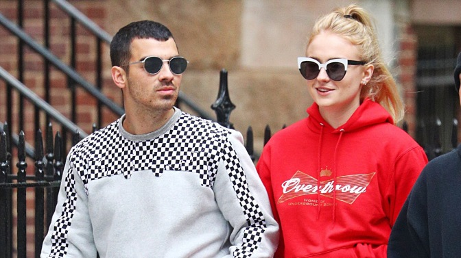 Joe Jonas and Sophie Turner out in New York