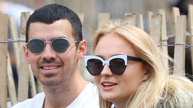 Joe Jonas and Sophie Turner in New York