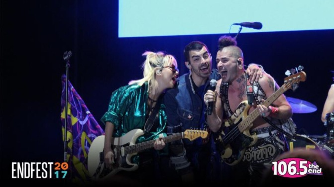 DNCE Performing at Endfest in Sacramento