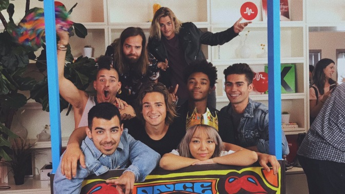 DNCE Meet and Greet at Musical.ly Headquarters