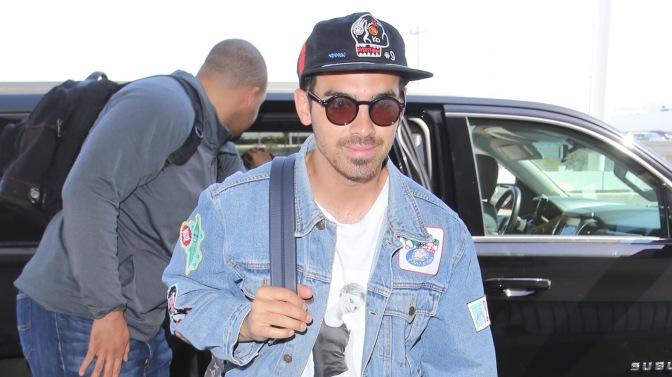 Joe Jonas at LAX