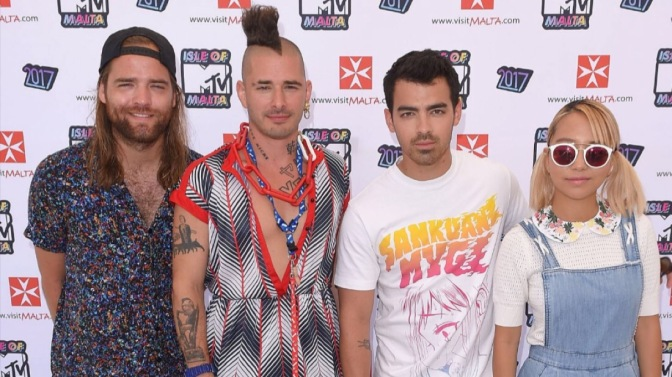 DNCE at the Isle of MTV Malta Press Conference