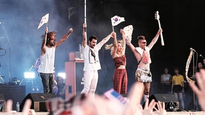 DNCE Performing in Incheon, South Korea