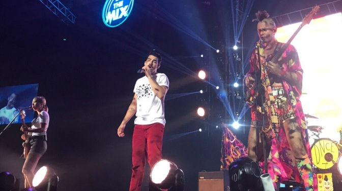 DNCE Perform at In The Mix Festival in Manila