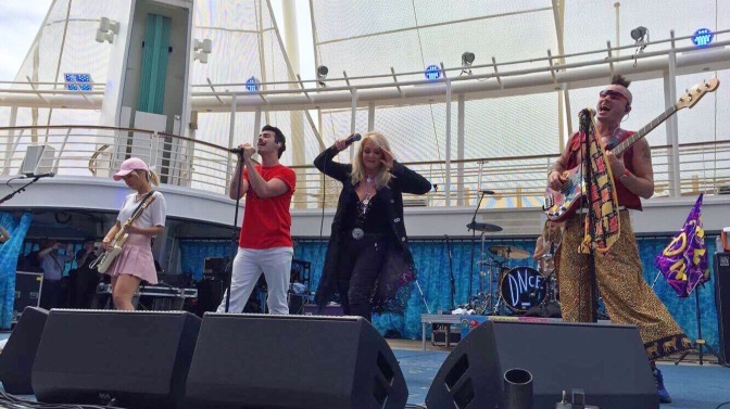 DNCE Perform During Royal Caribbean's Total Eclipse Viewing Party!