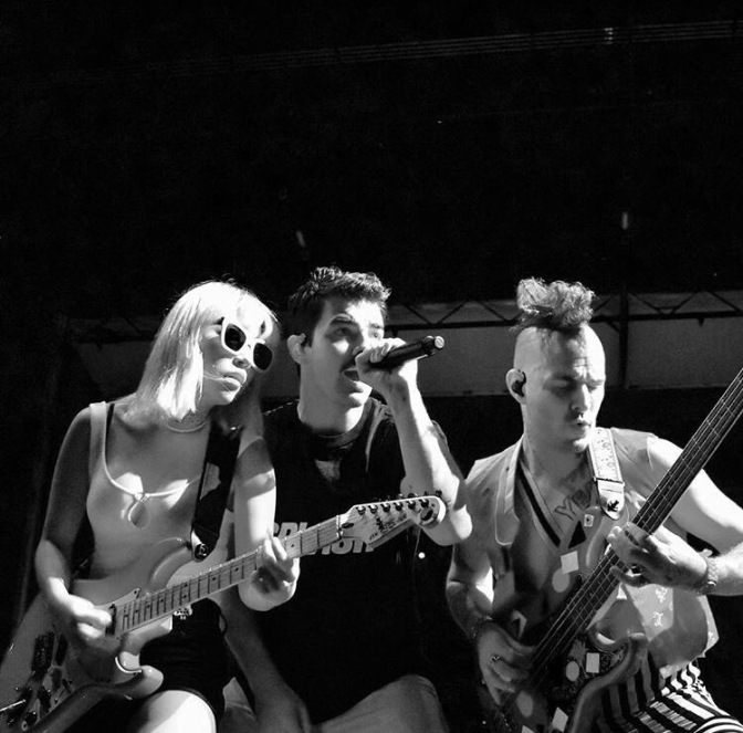 DNCE Perform at Fashion Meets Music Festival