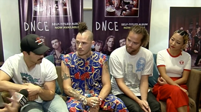 Watch: DNCE Interview With Marie Lozano in Manila