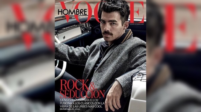 Joe Jonas Covers Vogue Mexico!