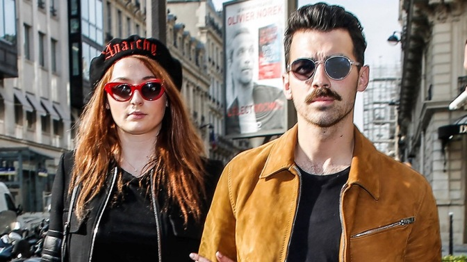 Joe Jonas and Sophie Turner Out in Paris