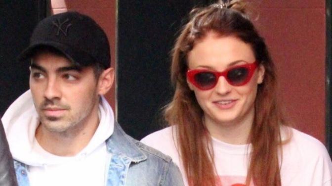 Joe Jonas and Sophie Turner out in Madrid