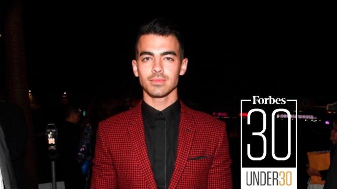 "Joe Jonas Featured on Forbes ""30 Under 30"" List!"