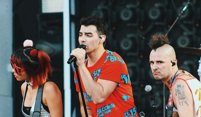 DNCE Perform in Santiago, Chile!