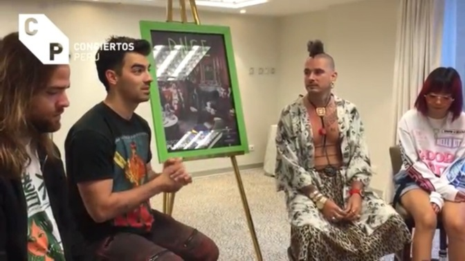 WATCH: DNCE Doing Interviews In Peru!