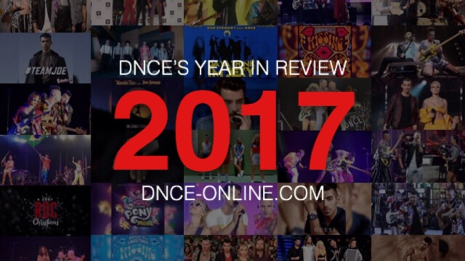 DNCE's Year In Review – 2017