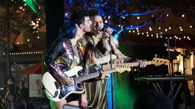 DNCE Perform at the Samsung Galaxy Studio at the Americana at Brand