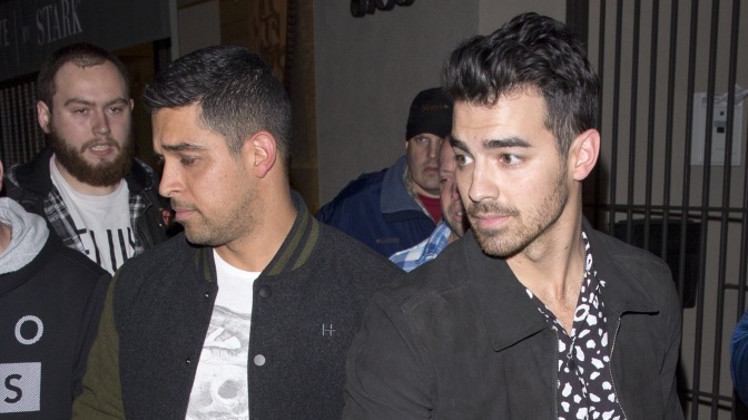 Joe Jonas and Wilmer Valderrama Spotted out to Dinner in West Hollywood