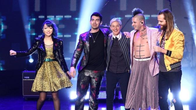 """DNCE Perform """"Dance"""" on Ellen!"""