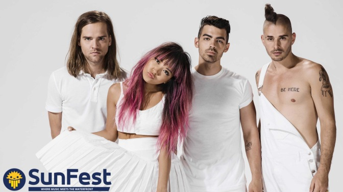 DNCE to Perform at SunFest