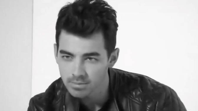 Joe Jonas on Set of 'The Voice' Australia Photoshoot