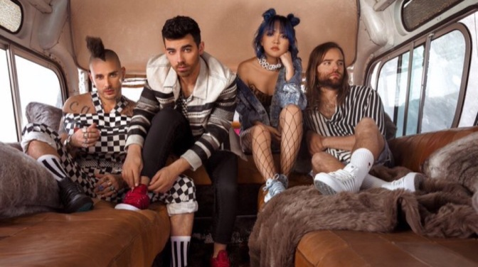 DNCE Team Up With K-Swiss and Journeys For New Campaign