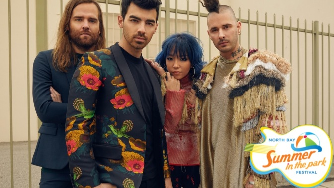DNCE To Headline Festival In The Park In Ontario