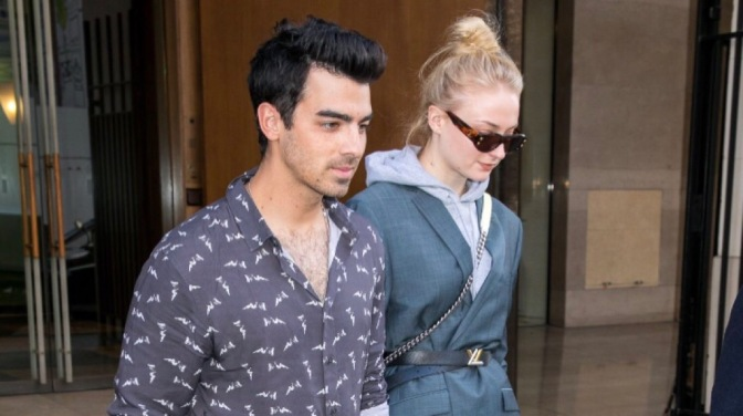 Joe Jonas and Sophie Turner Spotted out in Paris