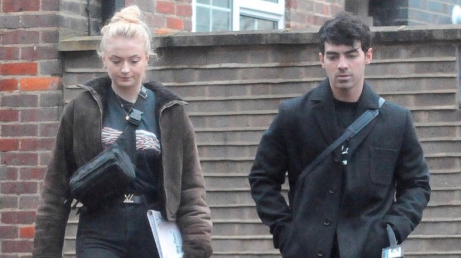 Joe Jonas and Sophie Turner Spotted out in London