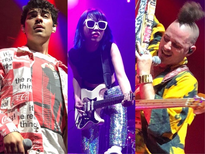DNCE Perform at Campbell Univeristy