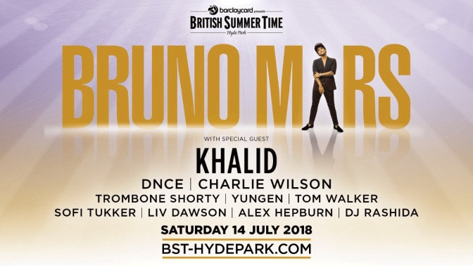 DNCE to Support Bruno Mars at British Summertime Hyde Park