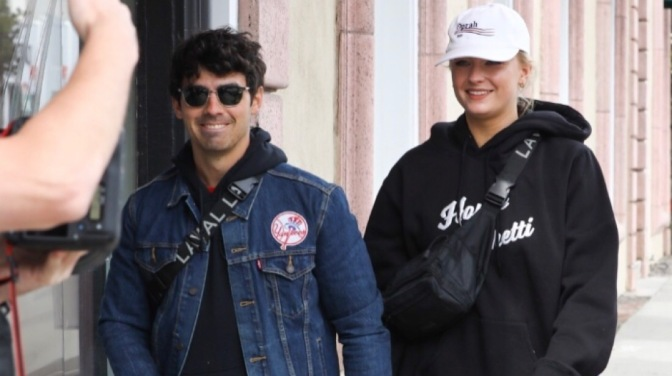 Joe Jonas and Sophie Turner Spotted out in West Hollywood
