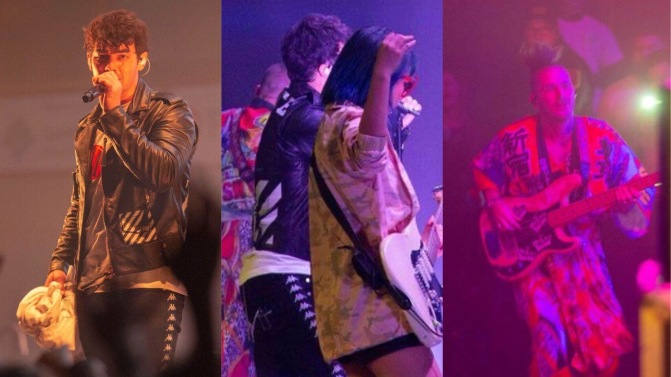 DNCE Perform at Gannon University