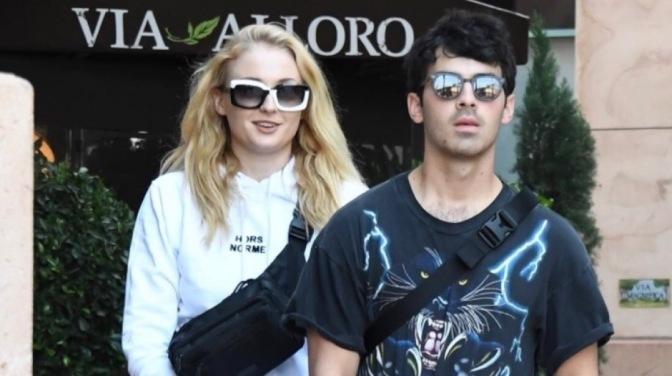 Joe Jonas and Sophie Turner out in Los Angeles