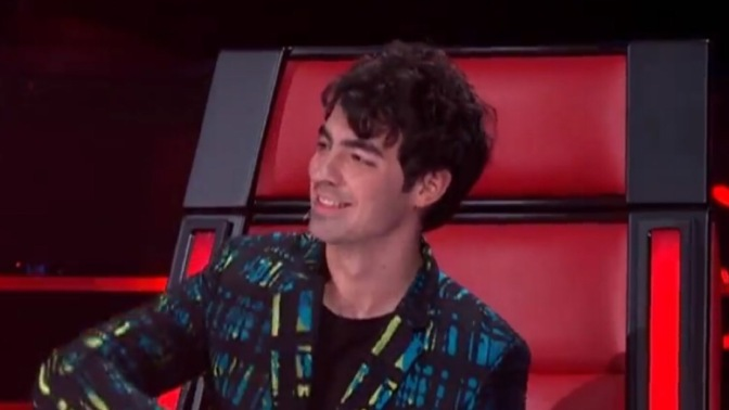 Joe Jonas on Night One of the Live Finals on The Voice AU