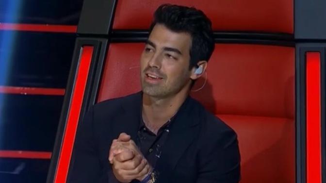 Joe Jonas on the Last Night of Knockouts on The Voice AU
