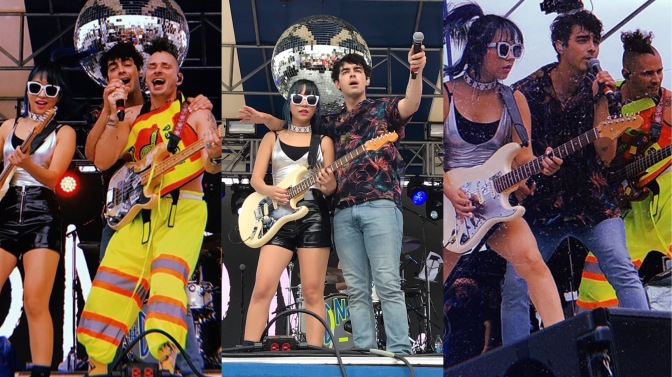 DNCE Perform at Sunfest in West Palm Beach