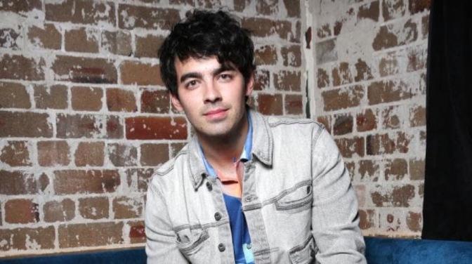 Joe Jonas at the Double Rainbouu Fashion Show in Sydney