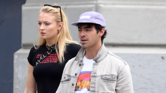 Joe Jonas and Sophie Turner Spotted out in New York