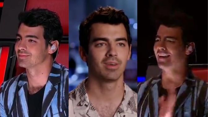 Joe Jonas on Night 1 of 'The Battles' on The Voice AU