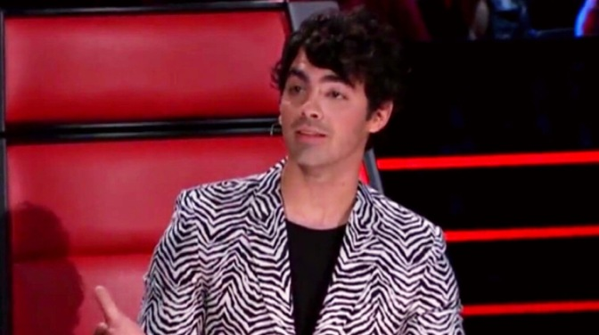 "Joe Jonas on the Second Night of ""The Lives"" on The Voice Australia"